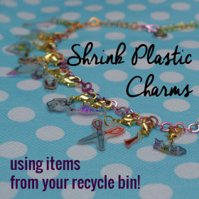 Shrink Plastic Charms Using Items From Your Recycle Bin