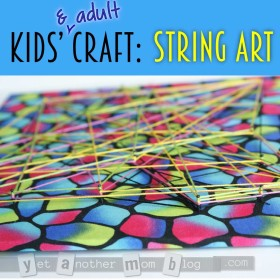 Kids' Craft: String Art