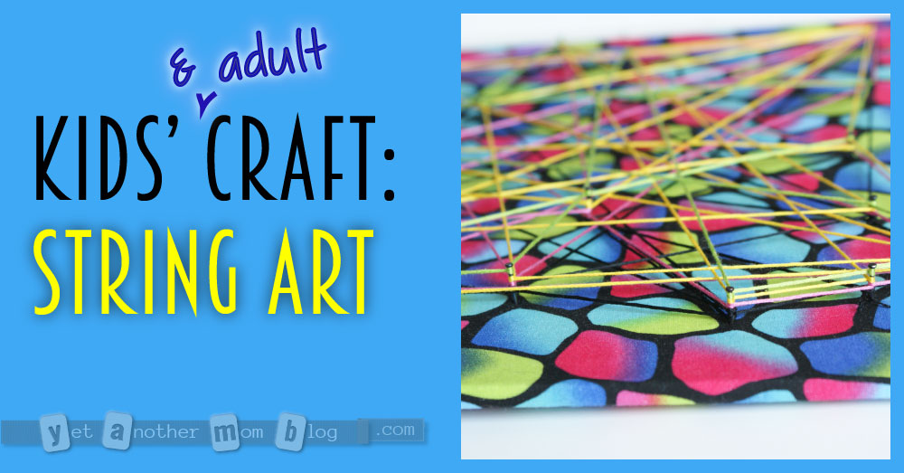 Kids (and Adult) Craft: String Art