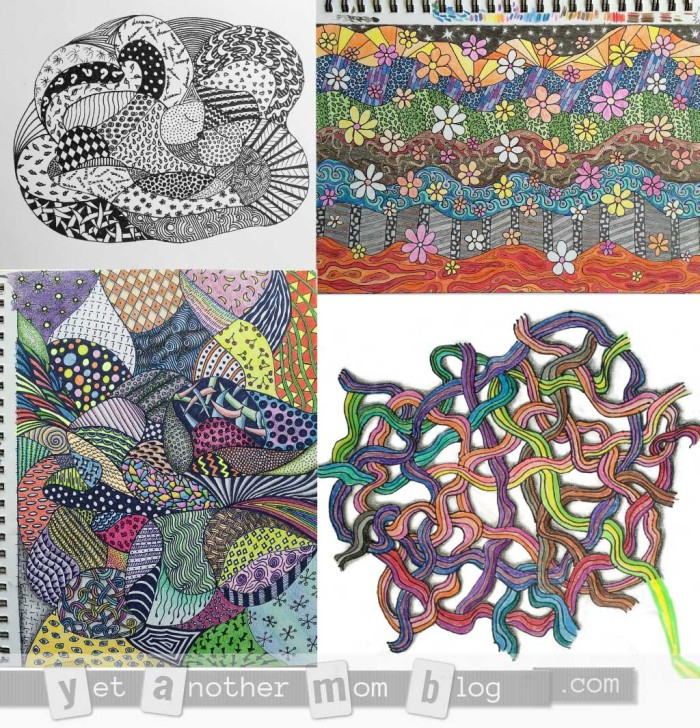 Zentangle or Doodle Examples