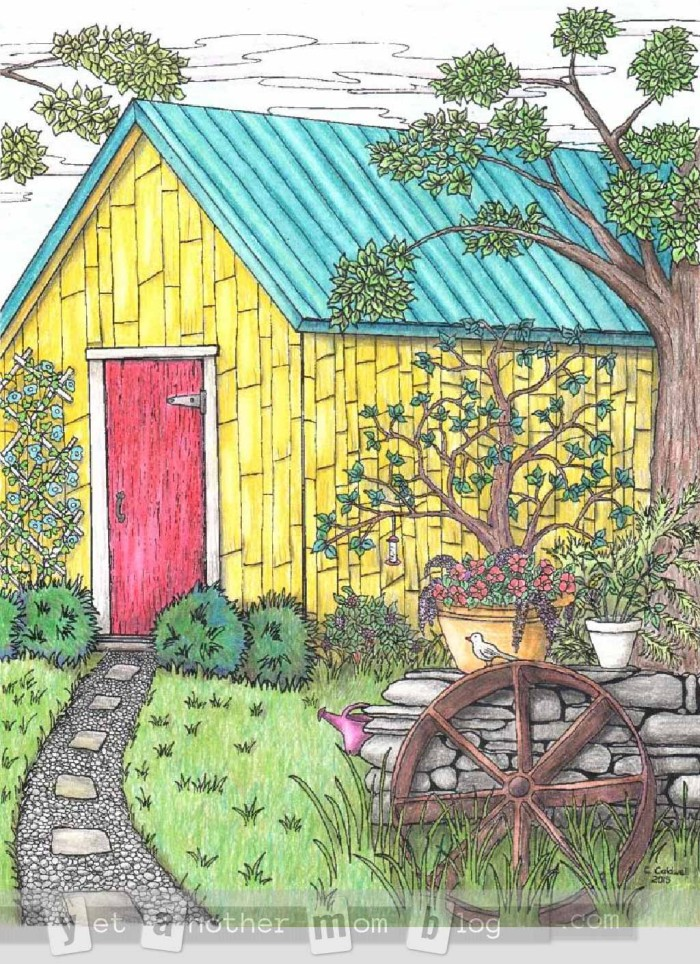 Coloring page mill - img 24654.