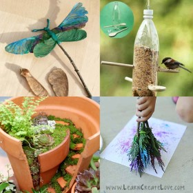Nature Crafts and Activities for Kids of All Ages for Spring and Summer