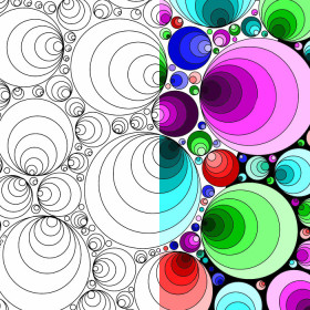 Coloring Pages for Adults: Circles