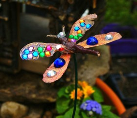 Dragonfly with Bling!
