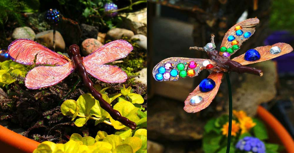 Nature Craft: Dragonflies & Butterflies