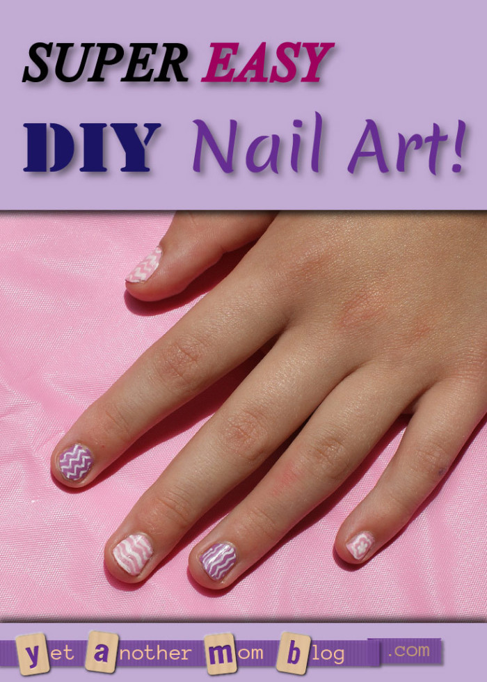 Super Easy DIY Nail Art! Anyone can get great results with this technique!