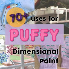 70+ uses for Puffy Paint (Dimensional Fabric Paint)