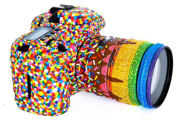 70+ Uses for Puffy Paint: Anti-Slip (and Decorative) Coating on Camera with Puffy Paint
