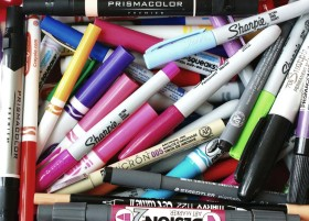 Coloring Primer Part 1: Media - Markers