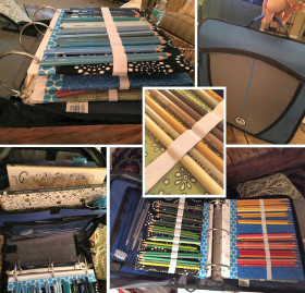 DIY Colored Pencil Case
