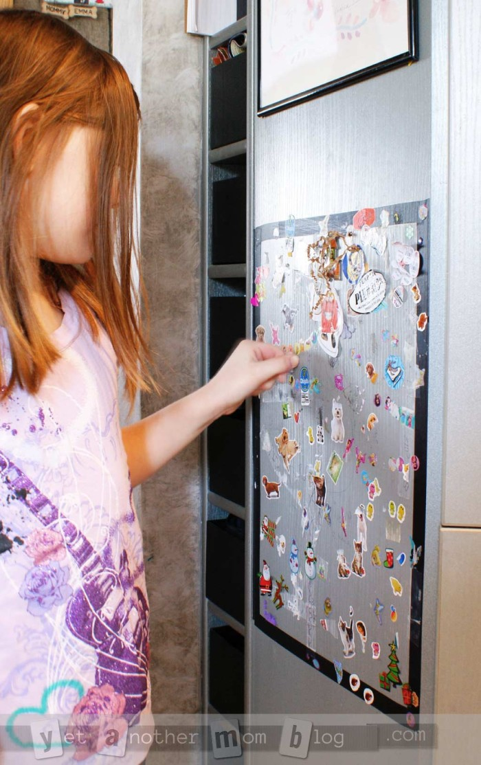 Sticker Spot - Safe Place for Kids to Stick Their Stickers!