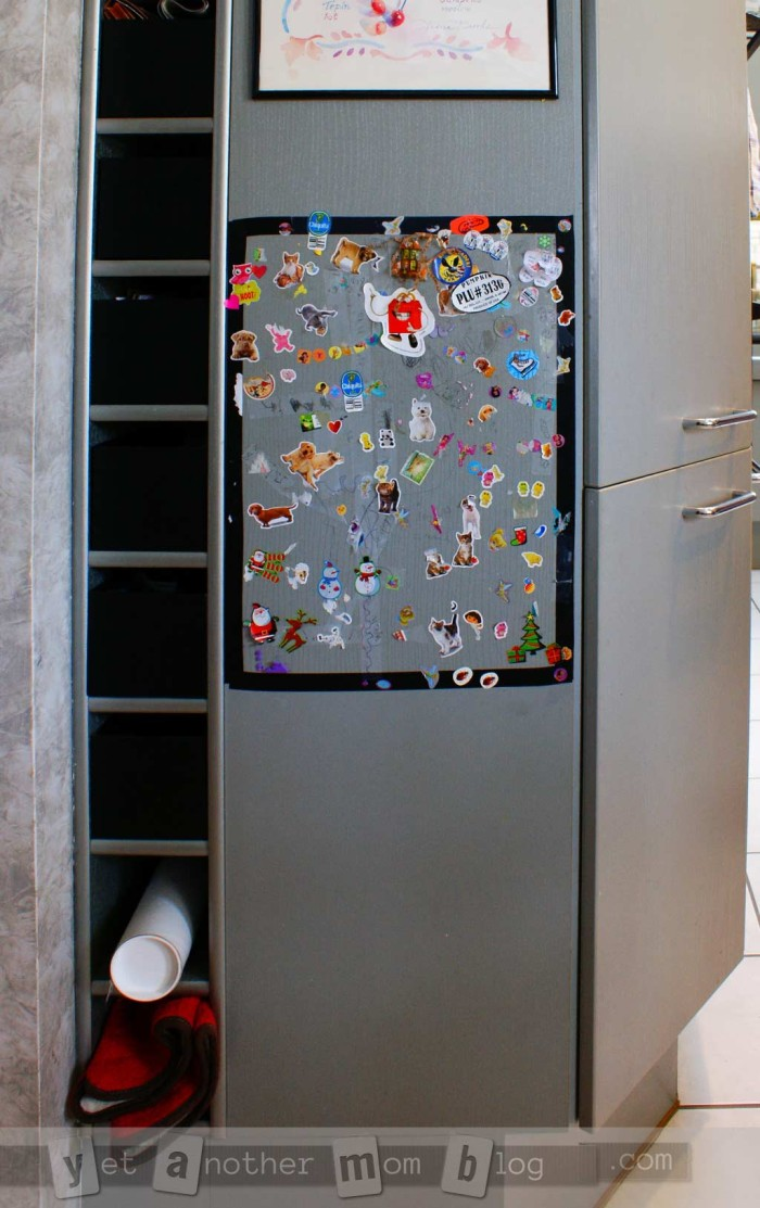 Safe Place for Kids to Stick Their Stickers