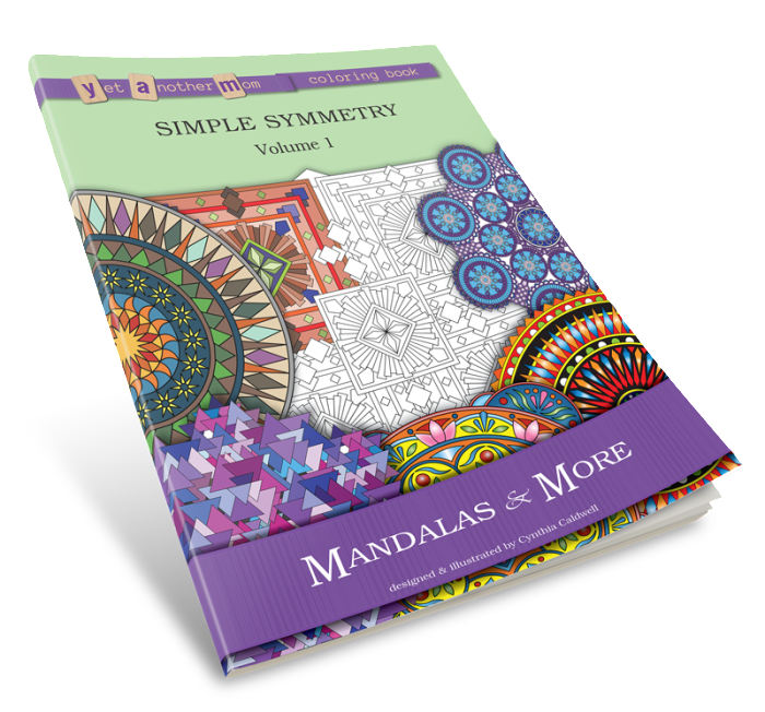 3D-book cover for Mandalas and More