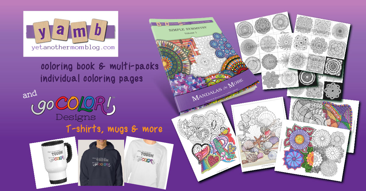 Yet Another Mom Coloring Shop - for all things coloring!