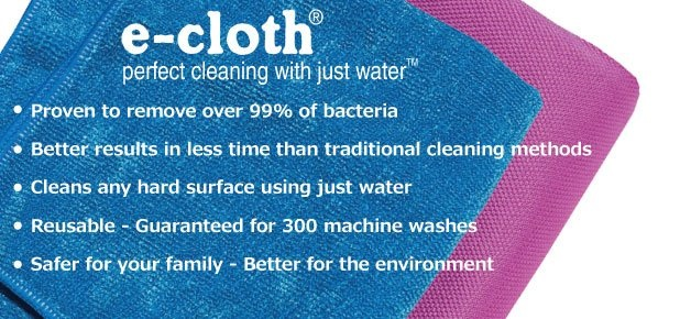 e-Cloth Reusable Cleaning Cloths