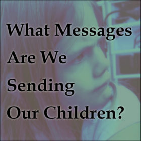 "What Messages Are We Sending Our Children? Are we being good role models? Protests and riots, bad-mouthing ""the other side,"" disrespecting authority, ""unfriending"" due to different beliefs,... Are we following the guidelines we set forth for them? We teach our children to accept each others' differences, value others' opinions & respect authority. Are we adults doing the same?"