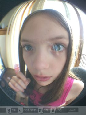 Goofy photo using fisheye lens